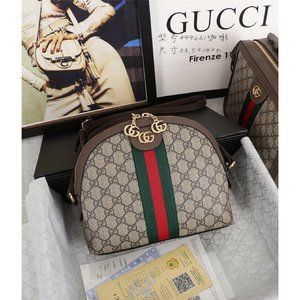 NWT GUCCI Ophidia GG small shoulder canvas bag